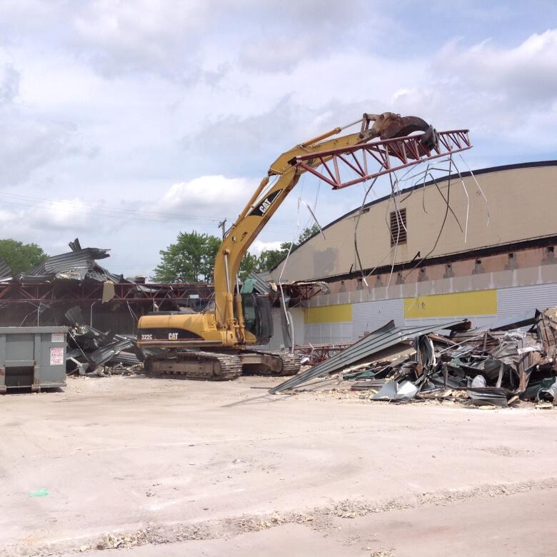 JoAnn Plaza Demolition